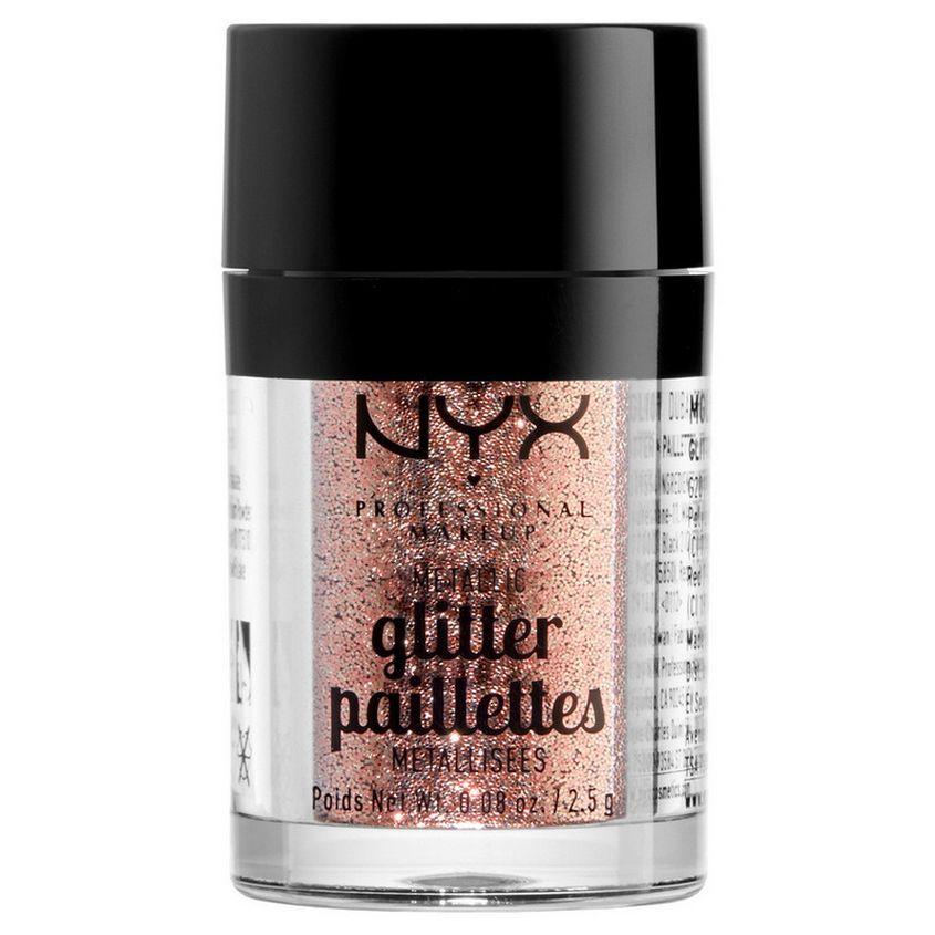 Купить со скидкой NYX Professional Makeup Глиттер для лица и тела. METALLIC GLITTER