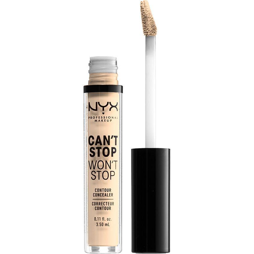 NYX Professional Makeup Стойкий жидкий консилер для лица. CAN'T STOP WON'T STOP CONTOUR CONCEALER фото