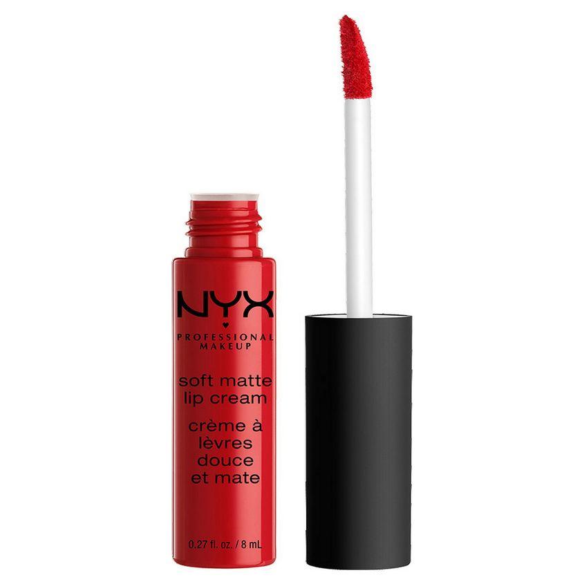 NYX Professional Makeup Матовая жидкая помада-крем. SOFT MATTE LIP CREAM