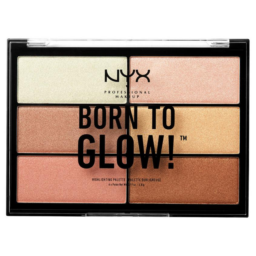 NYX Professional Makeup Палетка хайлайтеров