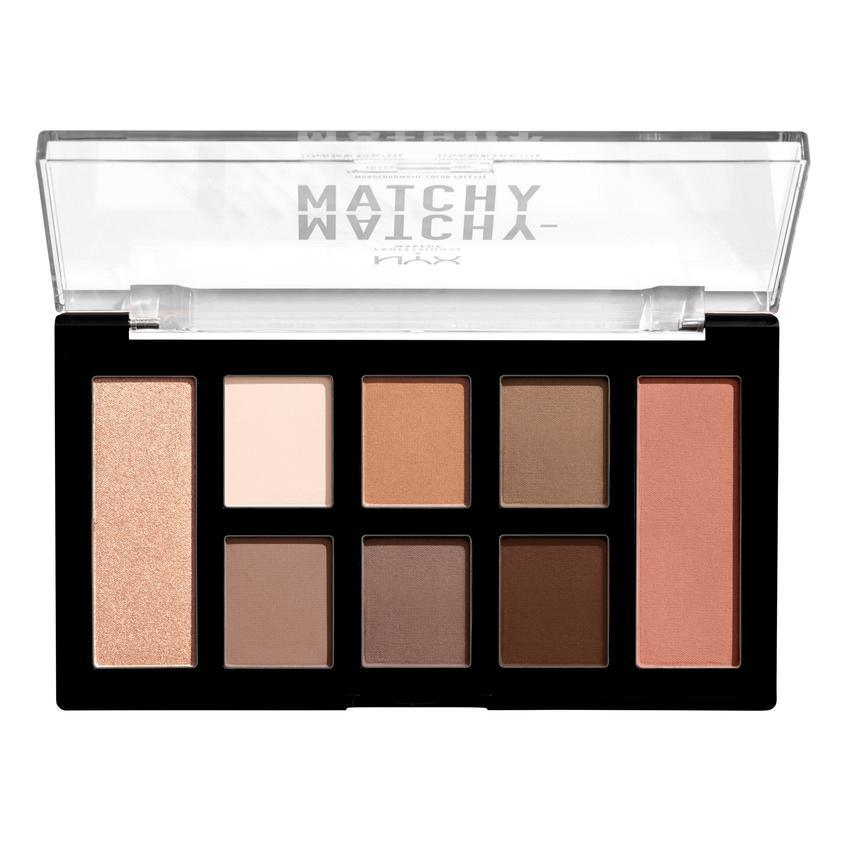Купить NYX Professional Makeup Палетка для монохромного макияжа глаз и лица MATCHY-MATCHY MONOCHROMATIC COLOR PALETTE