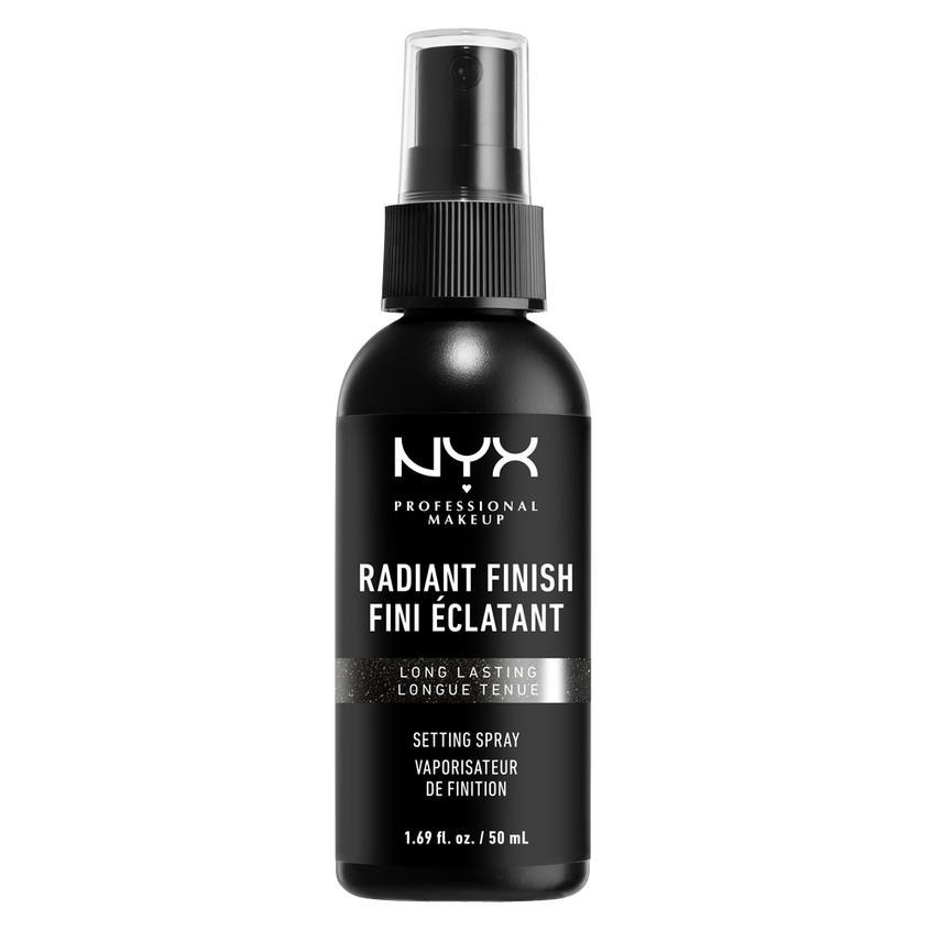 NYX Professional Makeup Спрей-фиксатор макияжа, придающий сияние MAKE-UP RADIANT FINISH SETTING SPRAY