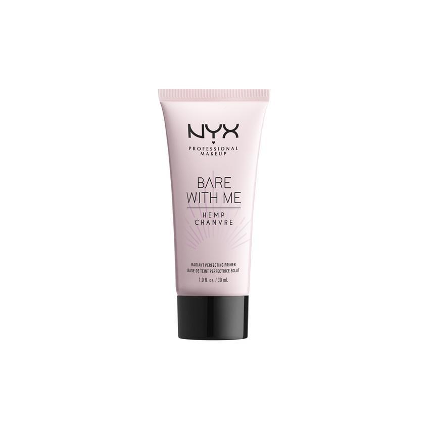 Купить NYX Professional Makeup Праймер-уход для лица c эффектом свечения кожи с маслом семян конопли BARE WITH ME RADIANT PERFECTING PRIMER