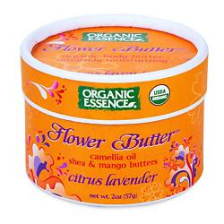 ORGANIC ESSENCE Органический цветочный крем Цитрус-Лаванда 57 г
