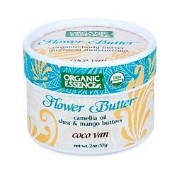 ORGANIC ESSENCE Органический цветочный крем Кокос-Ваниль 57 г