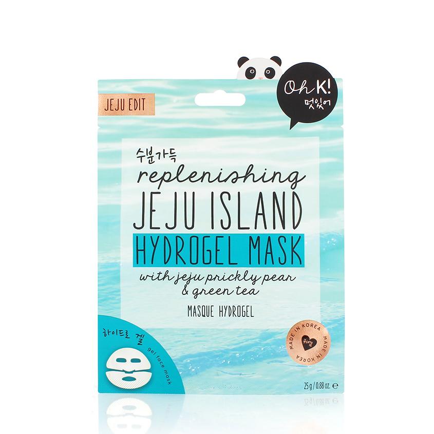 Купить OH K! JEJU MINERAL LAVA SEA WATER HYDROGEL MASK Маска для лица гидрогелевая увлажняющая и успокаивающая Остров чеджу