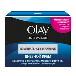 OLAY �������������� ������� ���� Olay Anti Wrinkle Instant Hydration Day