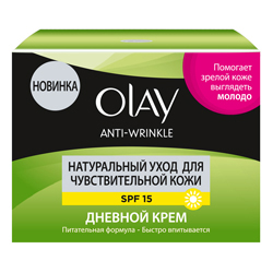 OLAY ���� ��� ���� ������� Anti Wrinkle ����������� ���� ��� �������������� ���� SPF15 50 ��