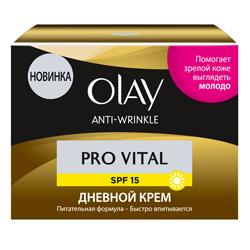 OLAY Крем для лица дневной Anti Wrinkle Pro Vital SPF15 50 мл