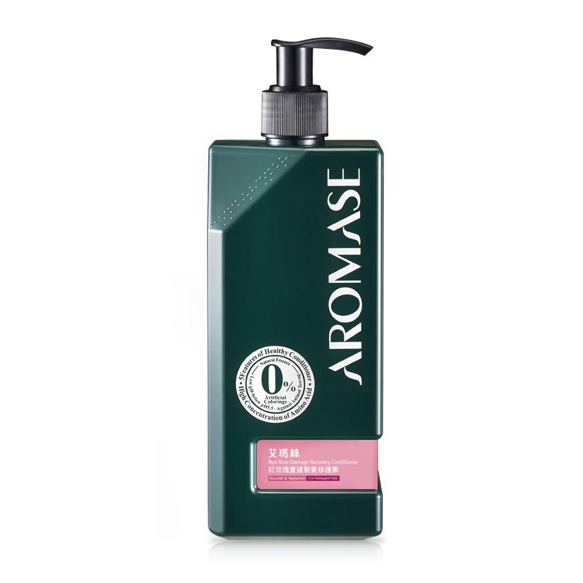 AROMASE Кондиционер для восстановления поврежденных волос с эфирным маслом розы