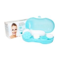 NAOMI Набор для очищения и массажа кожи лица 4в1 Аппарат + насадки 4 шт.
