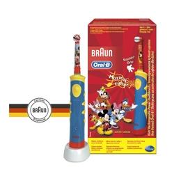 ORAL-B Электрическая зубная щетка детская Mickey for Kids D10.513 (тип 3757) 1 шт.