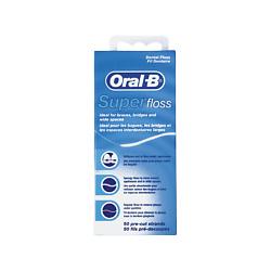 ORAL-B Зубная нить SUPER FLOSS 50 м