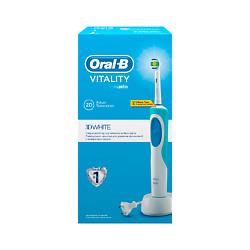 ORAL-B Электрическая зубная щетка Vitality D12.513 3D White (тип 3709) 1 шт. колгейт щетка зубная электрическая optic white sonic power