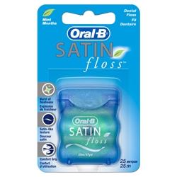 ORAL-B Зубная нить SATIN FLOSS 25 м