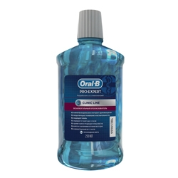 ORAL-B Безалкогольный ополаскиватель для рта Pro-Expert Clinic Line Прохладная мята 250 мл