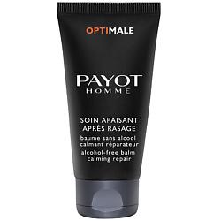 PAYOT Успокаивающий и восстанавливающий кожу бальзам после бритья без спирта 50 мл