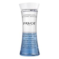 PAYOT Средство двухфазное для снятия водостойкого макияжа с глаз с экстрактом малины 125 мл