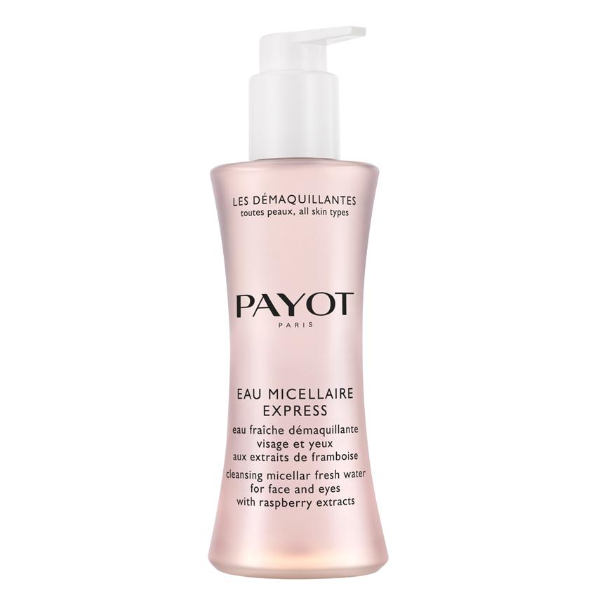 Купить PAYOT Вода мицеллярная очищающая для лица и глаз мгновенного действия с экстрактами малины