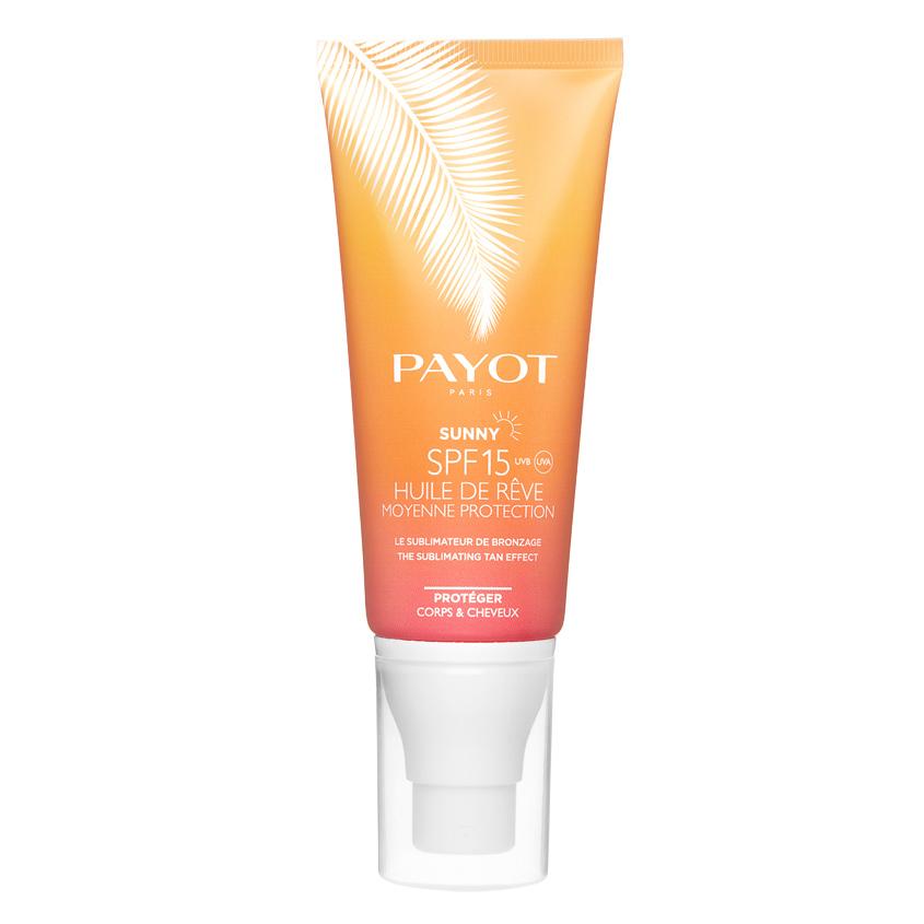 Купить PAYOT Масло для тела и волос солнцезащитное SUNNY SPF15