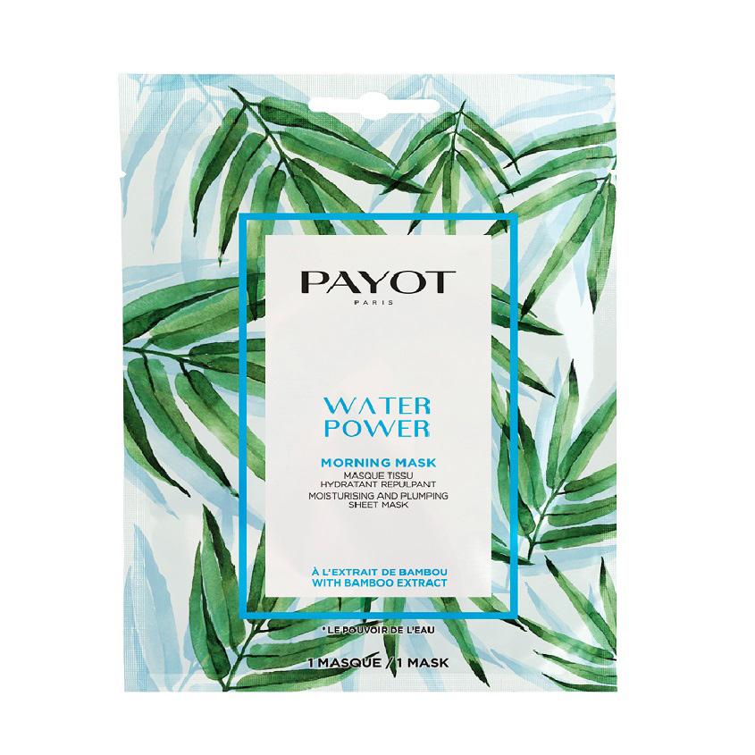 PAYOT Маска для лица тканевая для увлажнения кожи WATER POWER