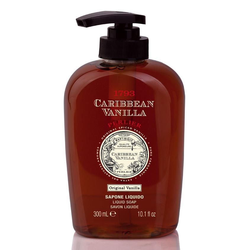 PERLIER Жидкое мыло Caribbean Vanilla