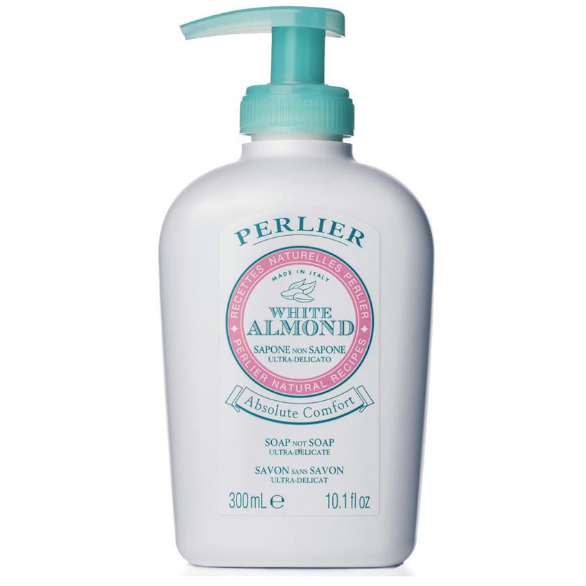 "PERLIER Деликатное жидкое мыло ""без мыла"" White Almond"