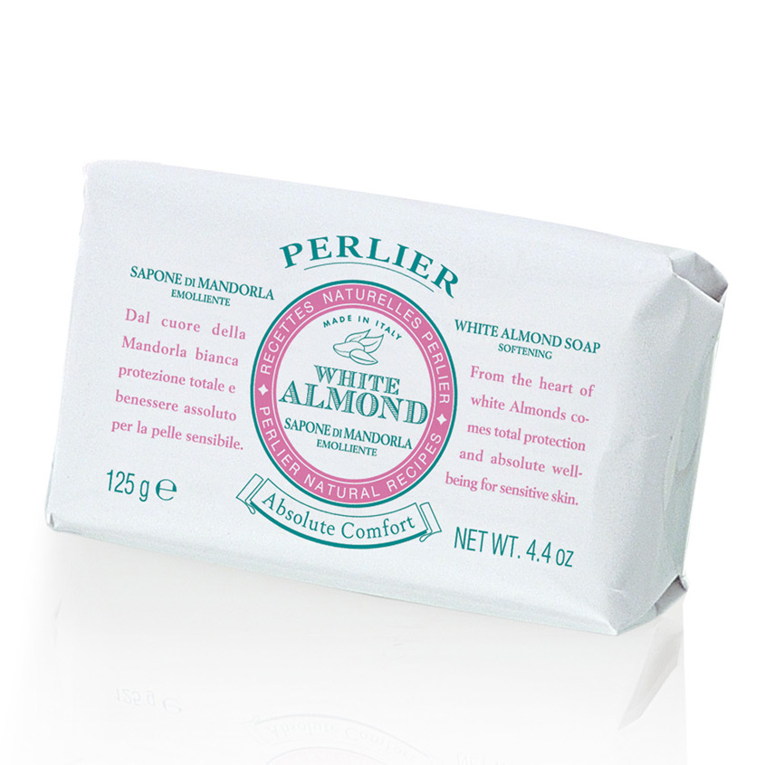 PERLIER Смягчающее мыло White Almond