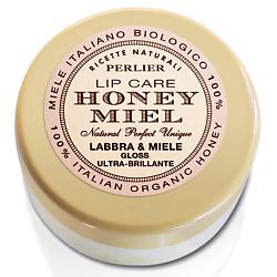 PERLIER Сияющий блеск для губ Honey Miel 5 мл