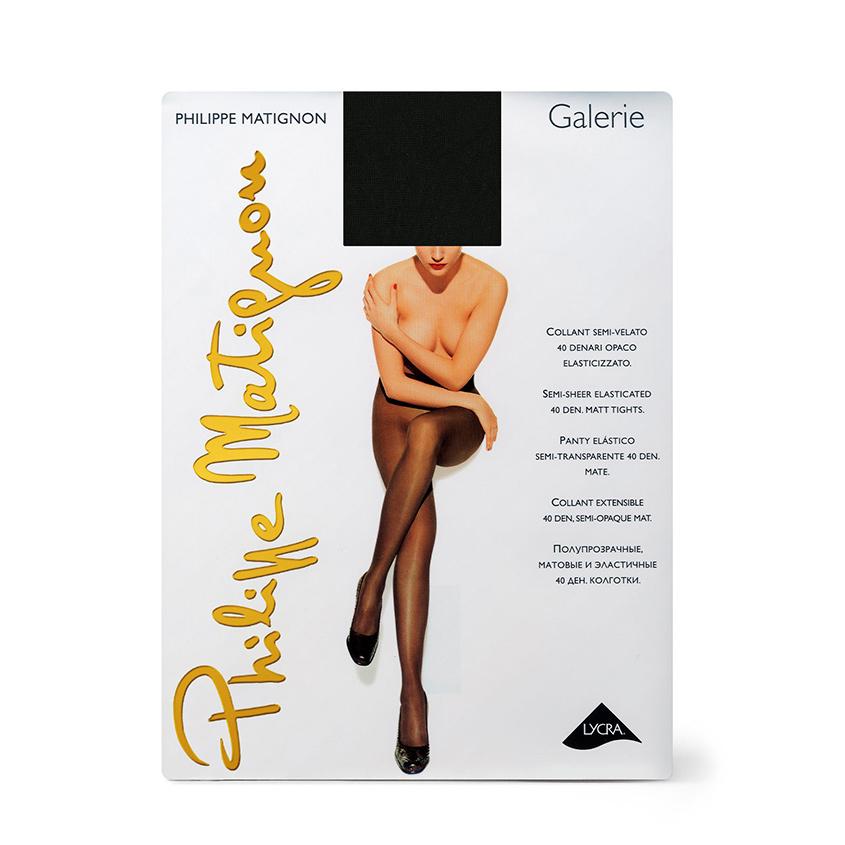 Купить PHILIPPE MATIGNON Колготки женские 40 ден Galerie Nero