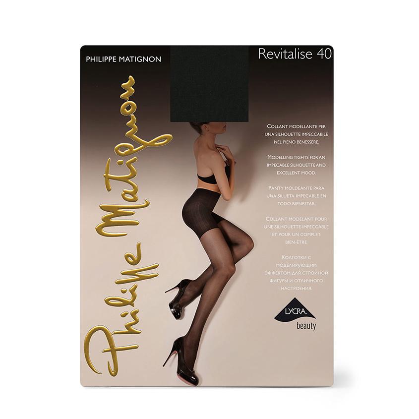 Купить PHILIPPE MATIGNON Колготки женские 40 ден Revitalise Nero