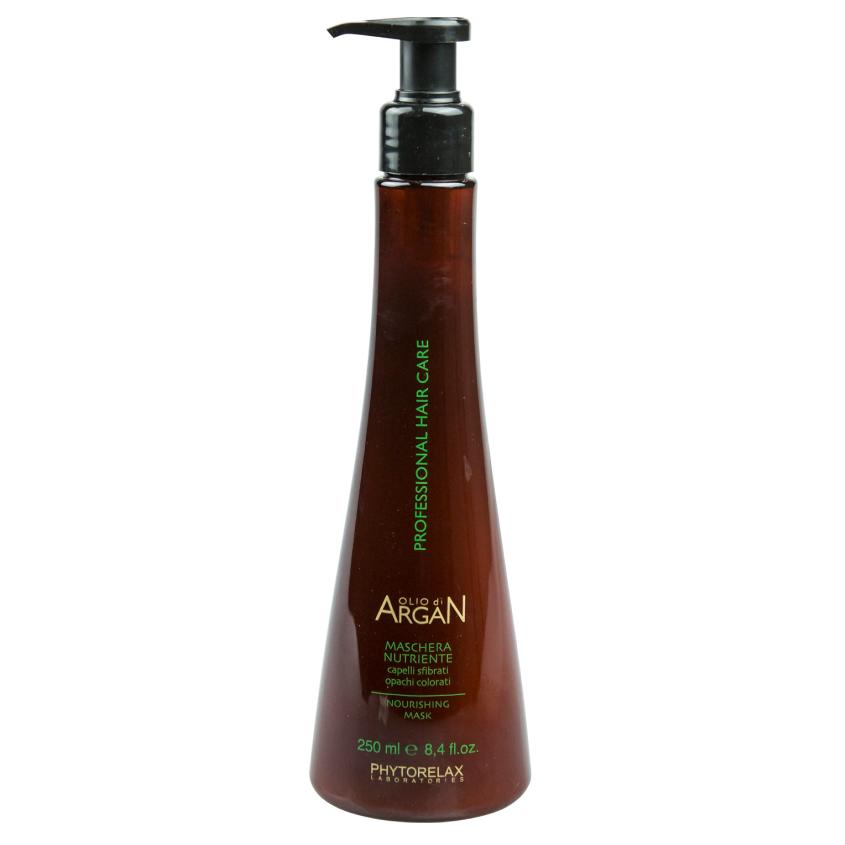 Купить PHYTORELAX Маска для волос питательная с маслом арганы