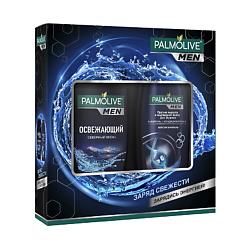 PALMOLIVE Подарочный мужской набор Экстра свежесть Гель для душа Cеверный Океан 250 мл + Шампунь 200 мл