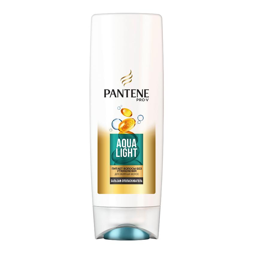 PANTENE Бальзам-ополаскиватель Aqua Light для тонких волос, склонных к жирности