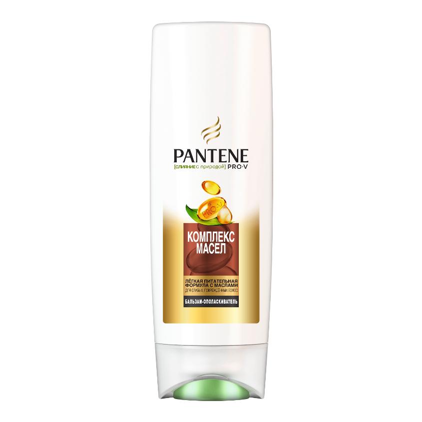 PANTENE Бальзам-ополаскиватель Слияние с природой Комплекс масел