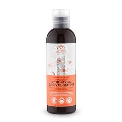 PLANETA ORGANICA Гель-мусс для умывания для всех типов кожи очищающий 200 мл