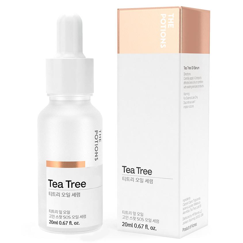 THE POTIONS Сыворотка для лица с маслом чайного дерева
