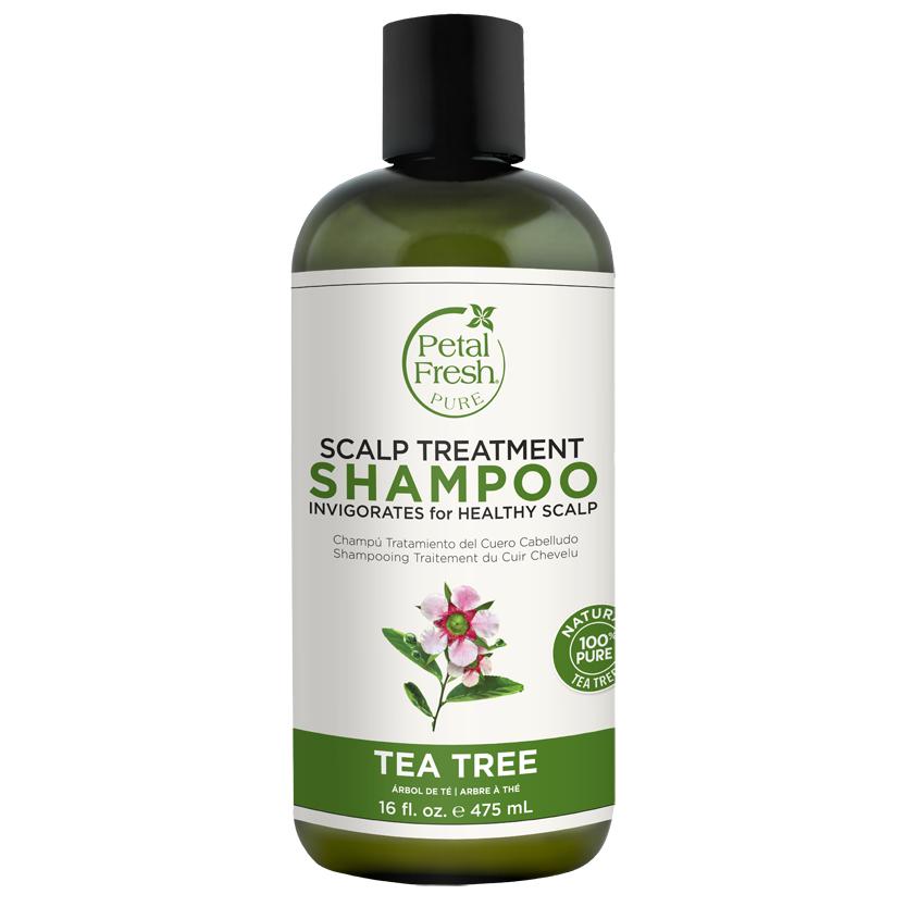 PETAL FRESH Шампунь для волос с экстрактом чайного дерева