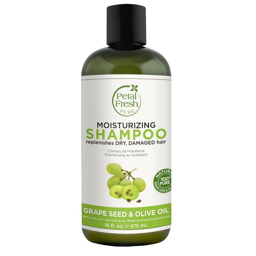 PETAL FRESH Шампунь для волос с семенами винограда и маслом оливы