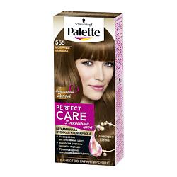 PALETTE Стойкая крем-краска Perfect Care 566 Темная Карамель