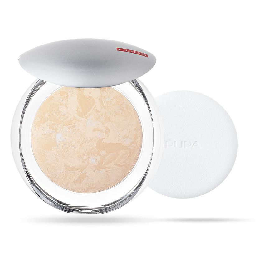 PUPA Пудра компактная запеченная Luminys Baked Face Powder