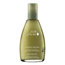 100% PURE 100% PURE Тоник органический эмульсионный Organic Matcha Anti-Aging Antioxidants Collection 177 мл