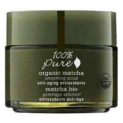 100% PURE Скраб для лица органический выравнивающий Organic Matcha Anti-Aging Antioxidants Collection 118 мл