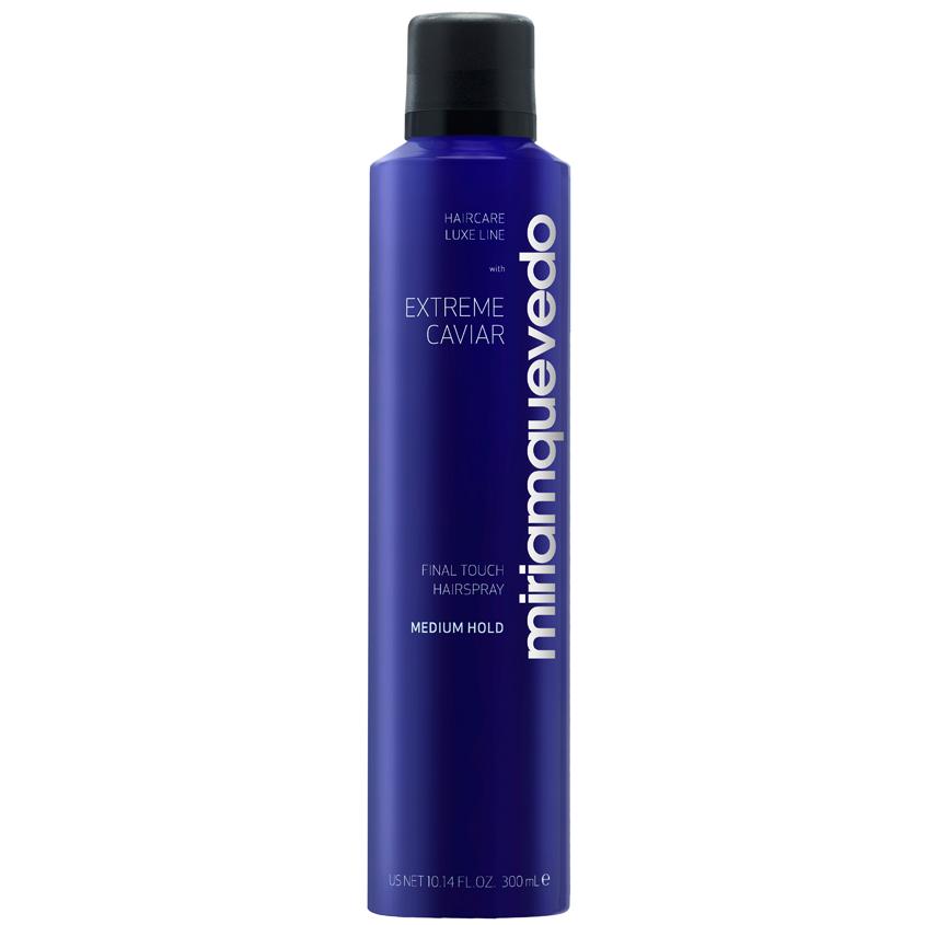 MIRIAM QUEVEDO Лак для волос средней фиксации с экстрактом черной икры Extreme Caviar Final Touch Hairspray – Medium Hold.