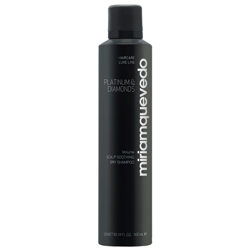 MIRIAM QUEVEDO Успокаивающий бриллиантовый сухой шампунь-люкс Platinum  Diamonds Scalp Soothing Dry Shampoo.