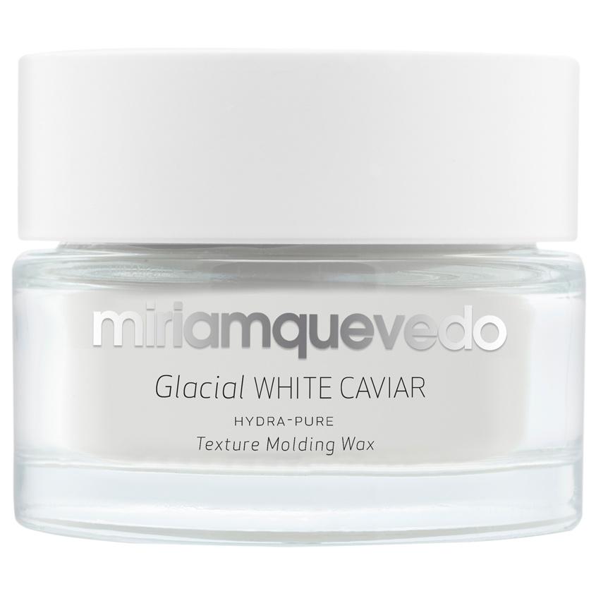 Купить MIRIAM QUEVEDO Увлажняющий моделирующий воск для волос с маслом прозрачно-белой икры Glacial White Caviar Hydra-Pure Texture Molding Wax