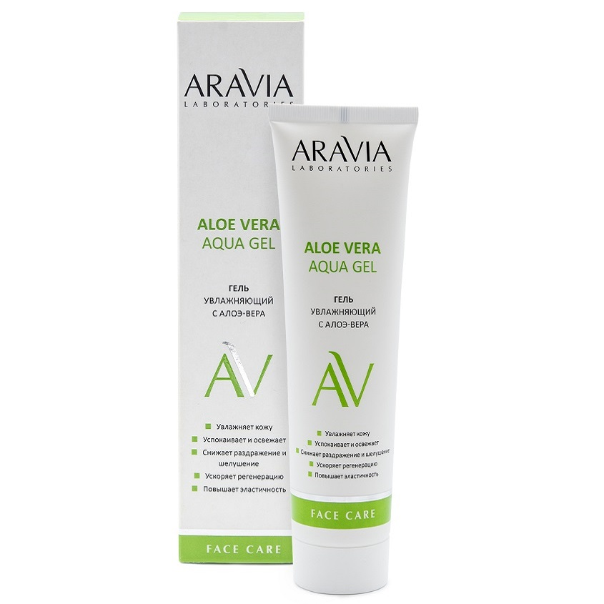 ARAVIA LABORATORIES Увлажняющий гель с алоэ-вера Aloe Vera Aqua Gel, 100 мл