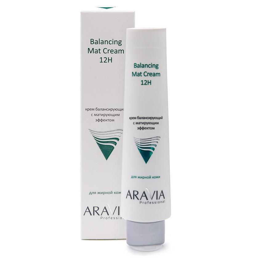 ARAVIA PROFESSIONAL Крем для лица балансирующий с матирующим эффектом Balancing Mat Cream 12H