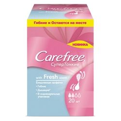 CAREFREE �������� ����������� Fresh scent ����������������� � �������������� �������� 20 ��.