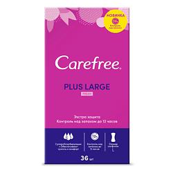 CAREFREE Салфетки plus Large Fresh ароматизированные 36 шт. гигиена для мамы carefree салфетки plus large 36 шт